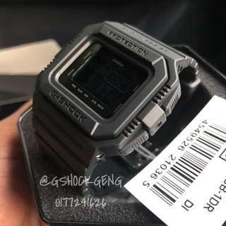 G-SHOCK DW-D5500BB-1 All Black ORIGINAL
