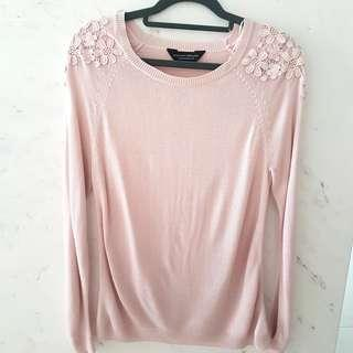 🚚 Dorothy Perkins Pink Knit Top Blouse #EndgameYourExcess