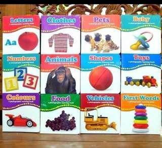 Boardbook balita (mari belajar dan bermain)