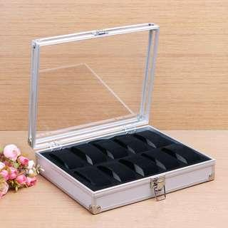 Watchbox 10 slots aluminium