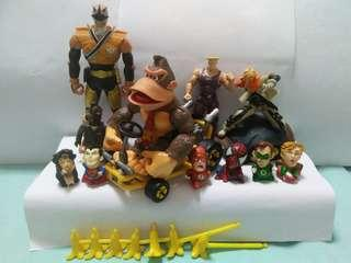mix toys and figure(all for $20)