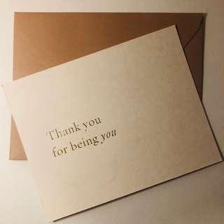 Thankful Wish Cards