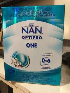 Nan Optipro 1 (0-6months) 1 sachet 650grams