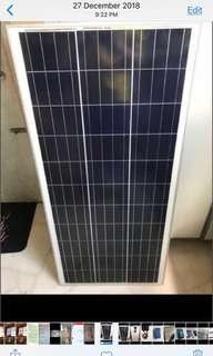 🚚 Brand new 100w solar panel with 30A controller