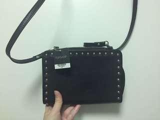 🚚 TOPSHOP Leather Stud Cross Body