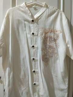 #mauheadset Kemeja Putih khas Bangkok XL