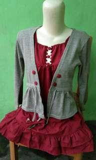 Dress mix blazer