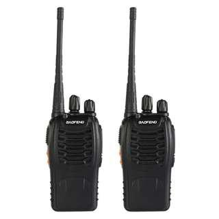 Walkie Talkies Baofeng BF-888S 2x (1 pair) for $32! (Good range and battery. Add $3 for 2 earpieces!)
