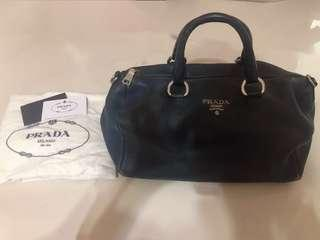 Prada handbag Navy color