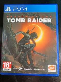 PS4 Shadow of the Tomb Radier 中文版