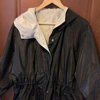 🚚 買4送1🙌🏻[二手出清]giordano ladies中長版休閒風衣外套