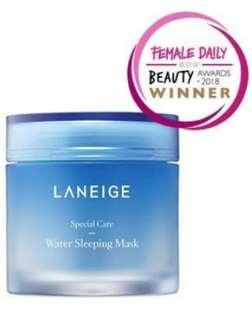 Laneige Water Sleeping Mask 70 ml original korea