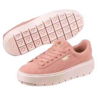 🚚 PUMA Suede platform 厚底鞋