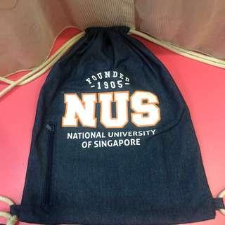 FREE NUS Drawstring Bag with any purchase
