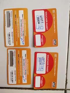 Voucher Data Indosat 35GB