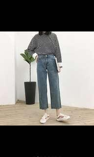 Boyfriend Jeans Retro Fashion Import