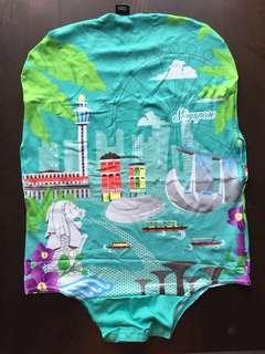 BN Singapore icon luggage cover