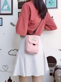 BN Sling bag   Cycling   Chest bag   Casual   Pink
