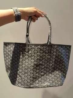 Goyard Charcoal Grey Bag PM