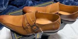 Made in Japan 日本製造修長款,西裝男裝真皮皮鞋