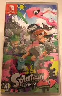 Switch Splatoon