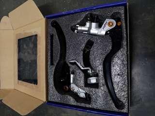 Nissin brake pump and clutch set