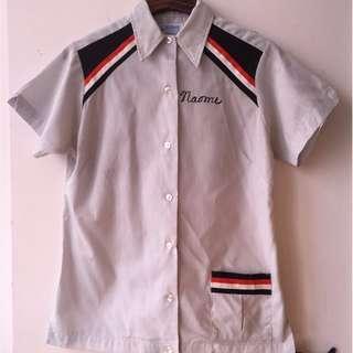 Vintage 1970 Hilton Petersen Bowling Shirt not converse jack lee levis red wing