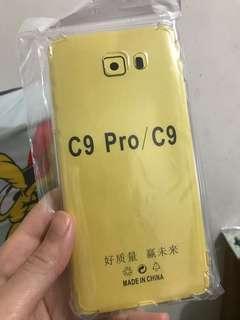 免郵 Samsung C9/C9pro 透明軟殼 包四邊 phone case