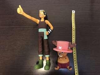 海賊王- 烏索普及索柏 (兩隻共$60  )