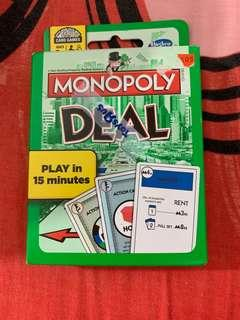 MONOPOLY DEAL FROM TOY'R'US