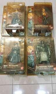 Full Metal Alchemist figurines