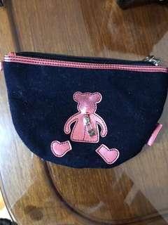 熊仔少女化妝袋