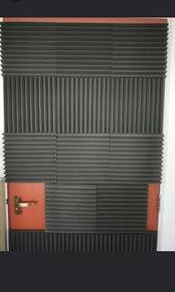 🚚 THICK acoustic foam for privacy!