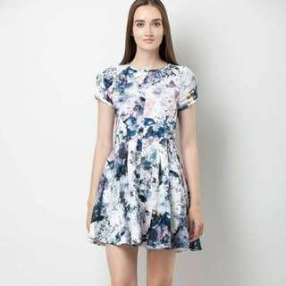 TBI Odea Watercolour Dress