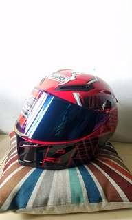 rainbow visor 93 agv shoei copy