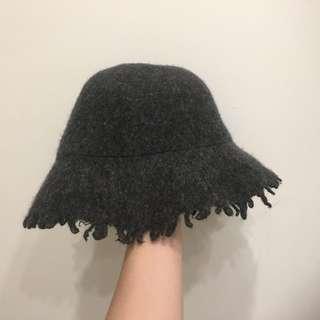🚚 韓國灰色不規則漁夫帽