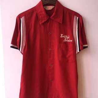 Vintage 1970 Corisco Bowling Shirt not converse pro keds levis lee rrl