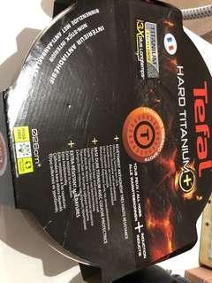 Tefal hard titanium plus stewpot 26cm w/ lid
