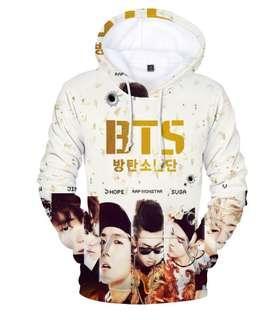 BTS Hoodie jacket