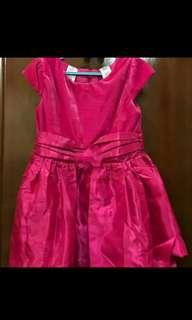 Dress guess hot pink second good condition