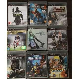 Ps3 Games Set 1