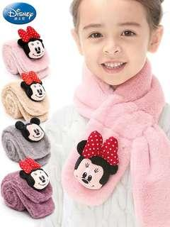 Pink Mickey scarf