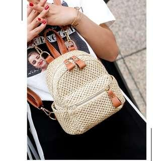 Cute Mini Rattan Bag