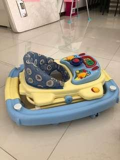 🚚 *Free* baby walker, music toy