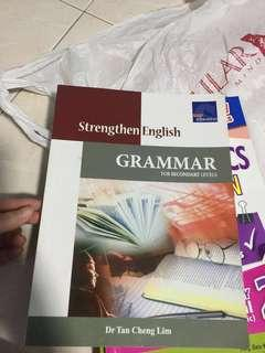 Brand new english grammar assessment book for secondary levels