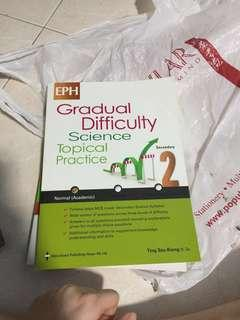 🚚 Brand new secondary 2 Normal academic topical science assessment book