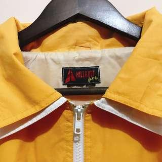 Vintage White-and-Yellow Jacket
