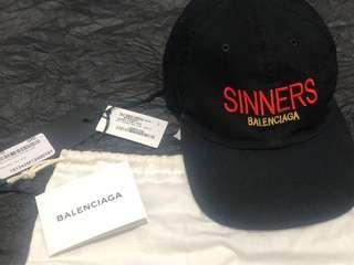 Balenciaga Sinners Cap