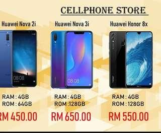 Huawei, nova 3i and iphone