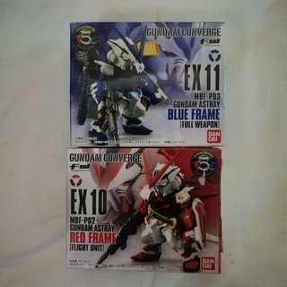 Bandai 全新行版高達食玩 Gundam Converge EX 10&11 Set